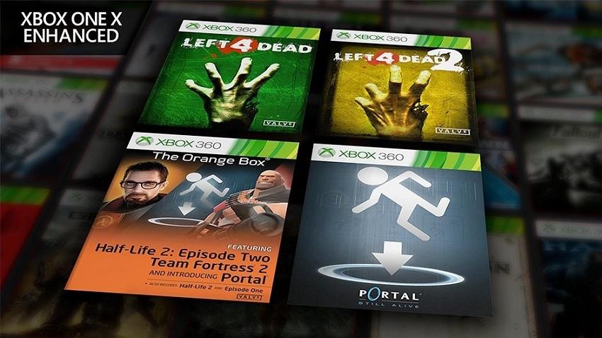 Valve Oyunları Xbox Geriye Uyumluluk Sistemine Eklendi