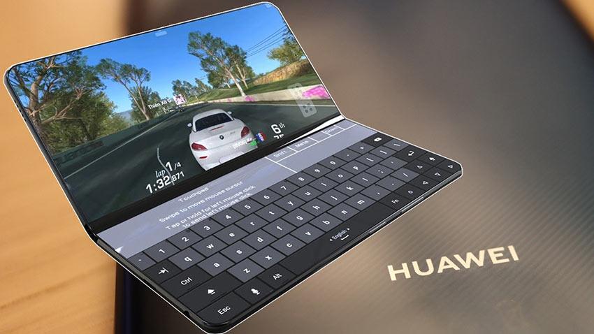 Huawei Katlanabilir Telefon Konsept