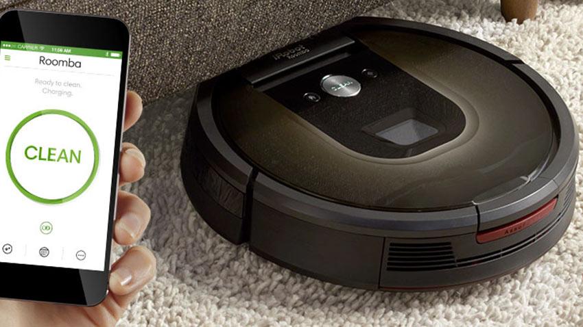 iRobot Roomba Google Akıllı Evler 1