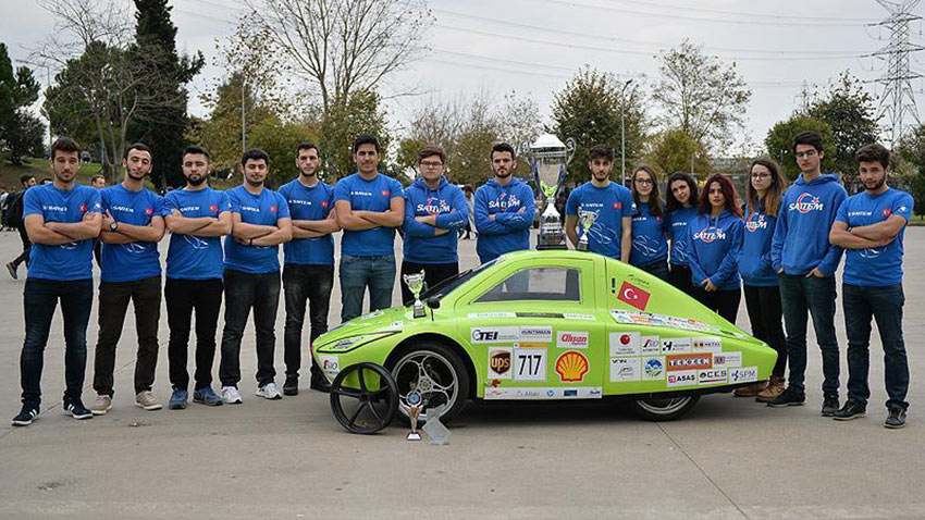 SAU Elektrikli Araç Shell Eco Marathon 1