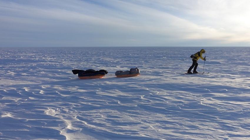 Colin O'Brady Antarktika