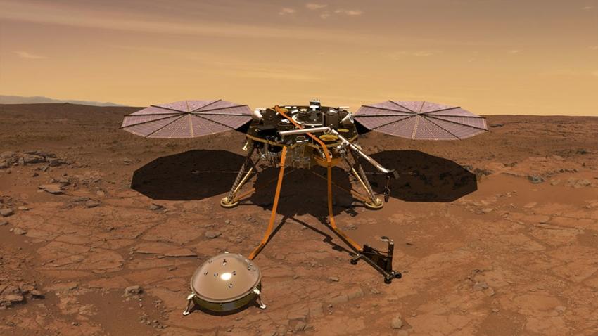 NASA insight canlı yayın