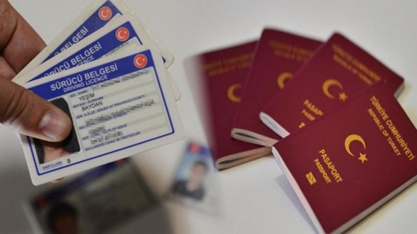 pasaport ehliyet e-devlet