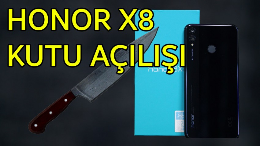 Honor 8X Kutu Açılışı