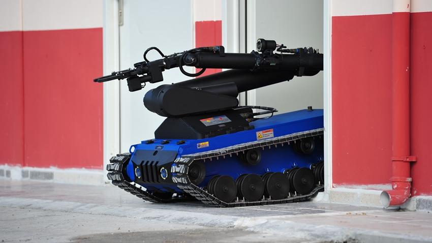Ertuğrul Bomba İmha Robotunda Son Teslimatlar Gerçekleştirildi