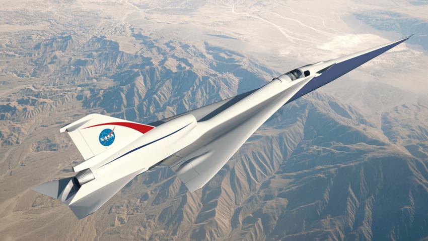 Lockheed Martin, NASA'nın Süpersonik Uçağını Yapmaya Başladı