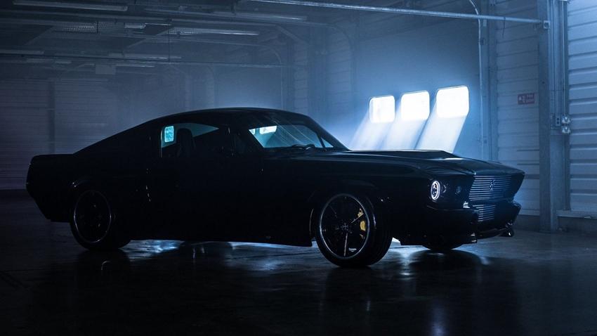 Tamamen Elektrikli Mustang Göz Kamaştırıyor!