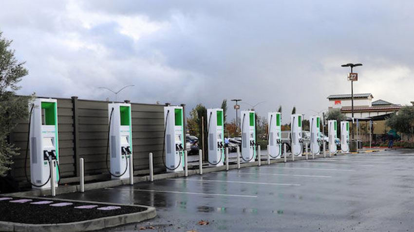 ABD Elektrikli Araç Şarj İstasyonları 1