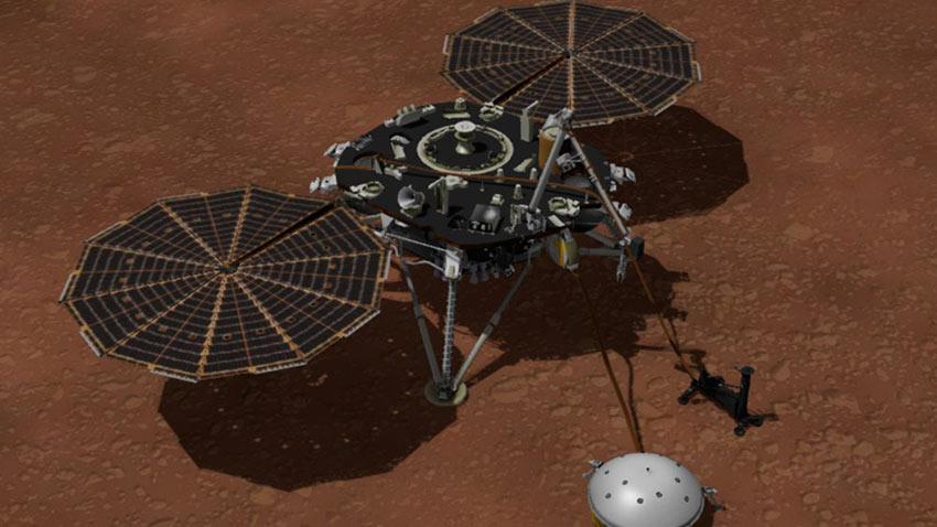 NASA Mars InSight Deprem Ölçer