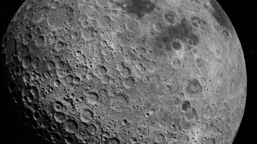 Ay'ın karanlık yüzü çin