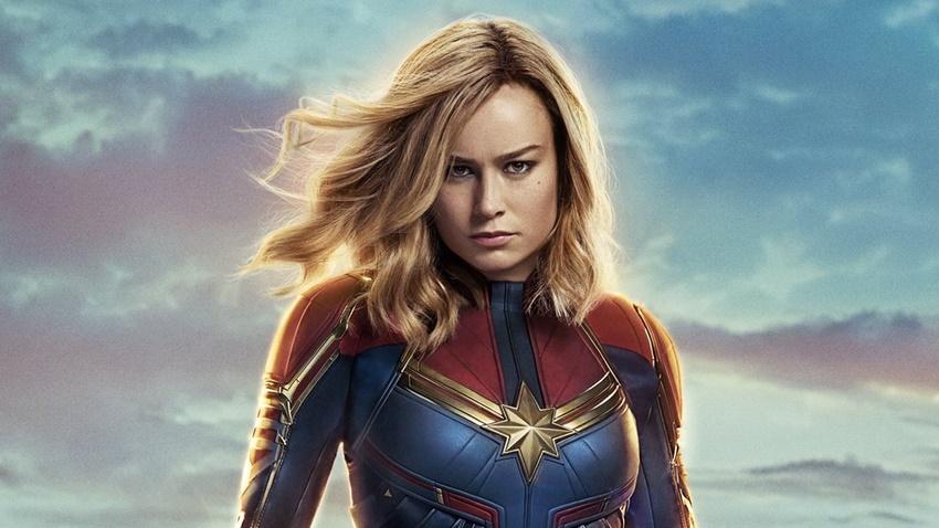 Brie Larson'lı Captain Marvel'dan Yeni Poster!