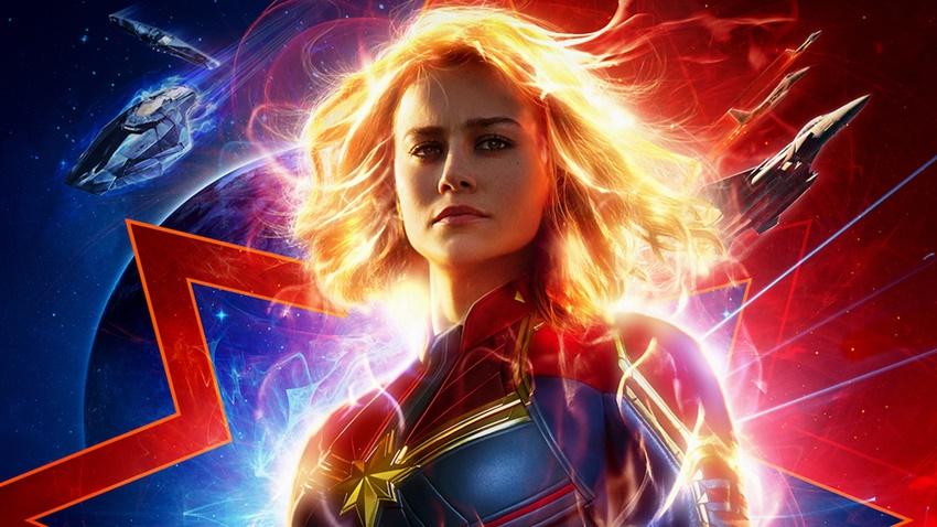Captain Marvel'ın Yeni Fragmanı Ateş Ediyor!