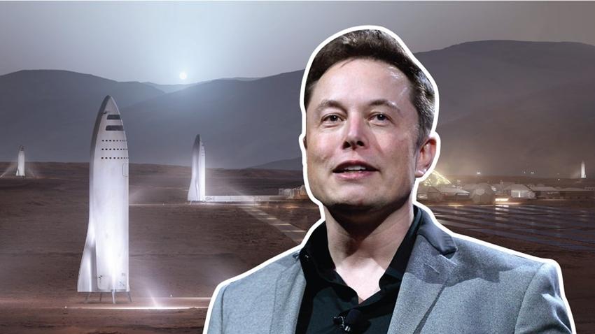 Elon Musk, İnsanlığı Mars'a Taşıyacak Uzay Gemisini Paylaştı!
