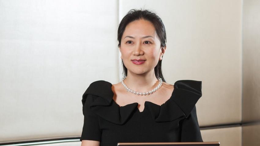 Huawei'nin Sahibinin Kızı Kefaletle Serbest Bırakıldı!