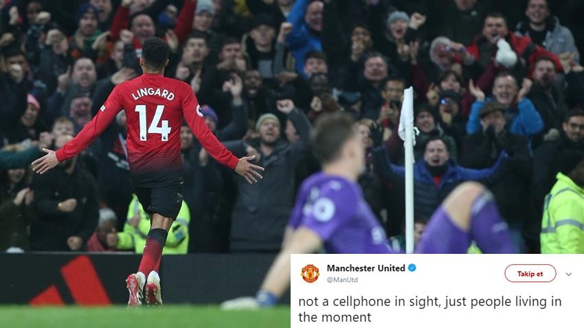 Manchester United'ın Paylaşımı Sosyal Medya'da Alay Konusu Oldu