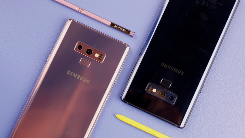 Samsung, Galaxy Note 9'u iPhone ile Tanıttı!