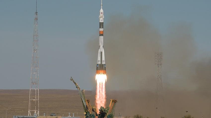 Soyuz Roketi, Başarılı Bir Şekilde Uzaya Fırlatıldı
