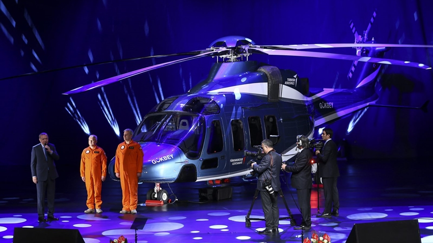 Yerli ve Milli Helikopterimizin İsmi Belli Oldu Gökbey
