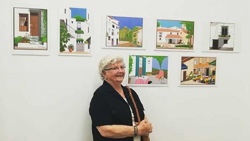 Büyükanne Paint Resimleri 1