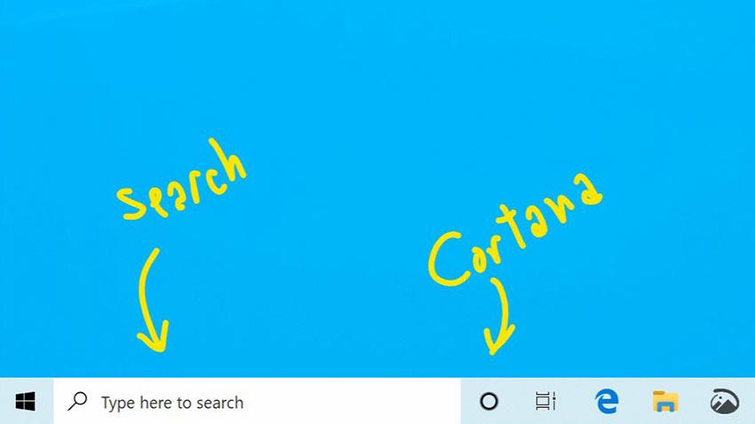 Microsoft Arama Özelliği Ve Cortana