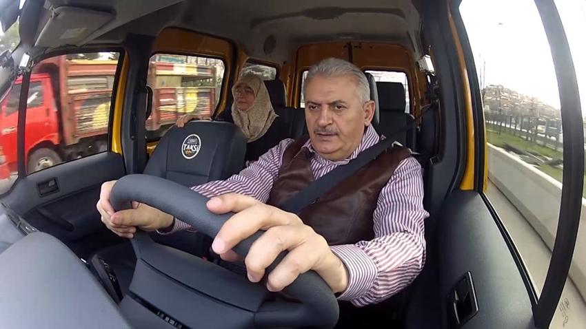 binali yıldırım taksi