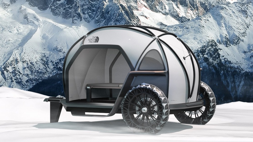BMW ve The North Face'ten Kamp Aracı