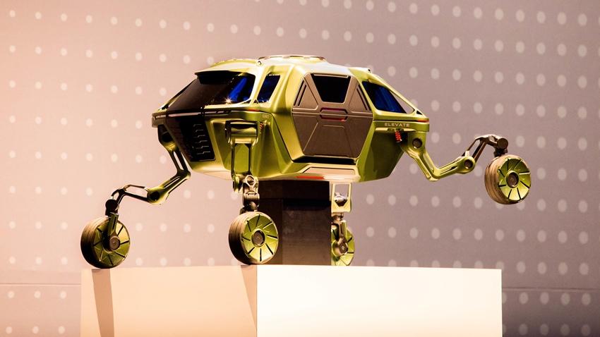 Hyundai, Yürüyen Araç Konseptini Tanıttı