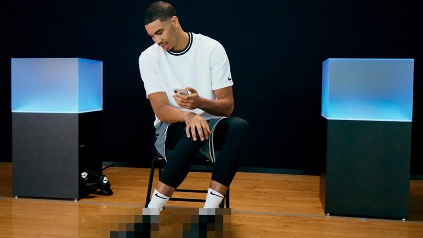 Nike'tan Bluetooth Destekli Basketbol Ayakkabı