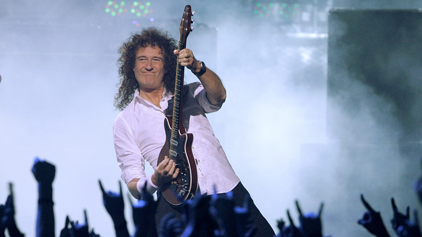 Queen'in Efsanevi Gitaristi, Uzaydaki Tarihi Göreve Şarkı Yaptı