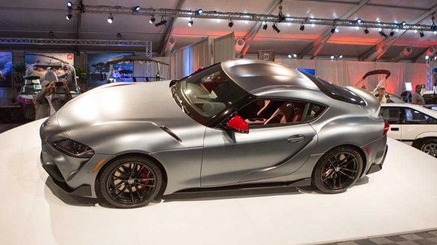 Yeni Toyota Supra, Açık Artırmada 2.1 Milyona Satıldı