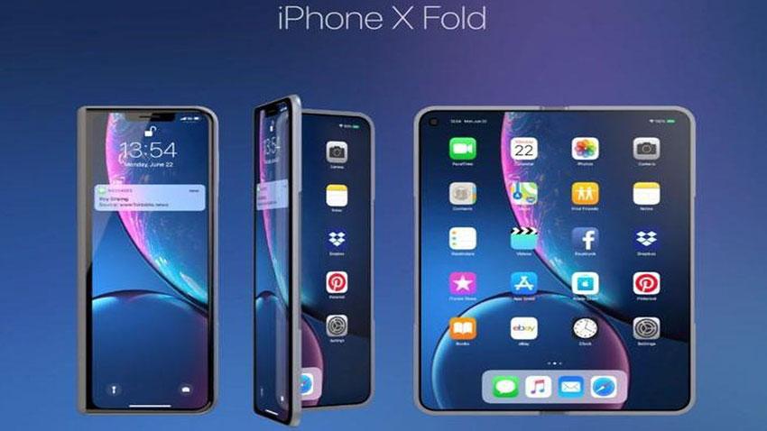 Apple Katlanabilir Telefon Konsepti 1