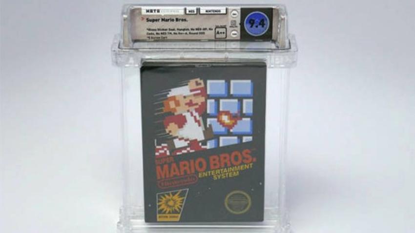 Super Mario Bros kartuşu