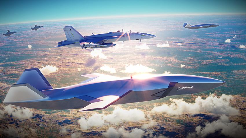 Boeing, Otonom Savaş Uçağını Tanıttı