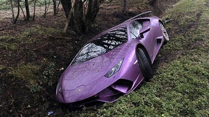 Bitcoin Yatırımcısı Lamborghini Kazası 1