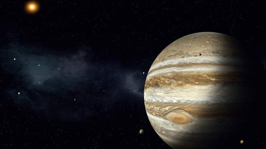 Jüpiter Güneş Arası Mesafe