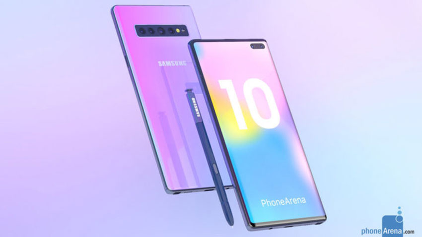 Samsung Galaxy Note10 Konsept 1