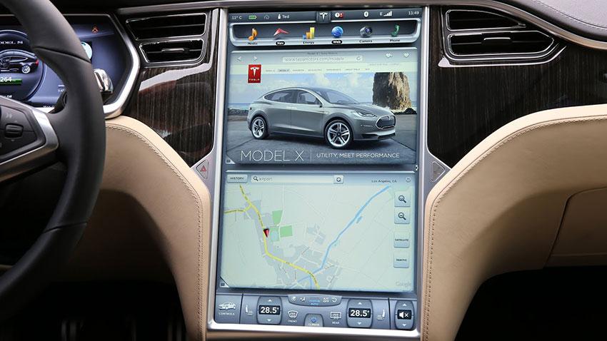 Tesla Araç İçi İnternet Tarayıcısı