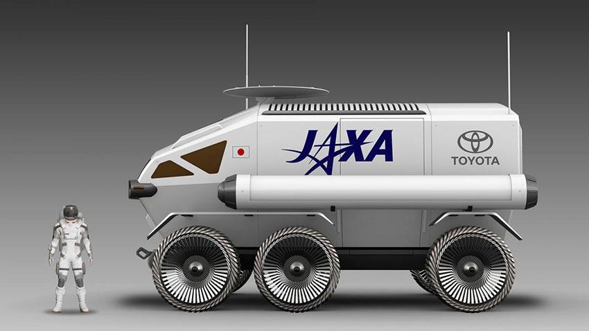 Toyota Ay İçin Özel Arazi Aracı