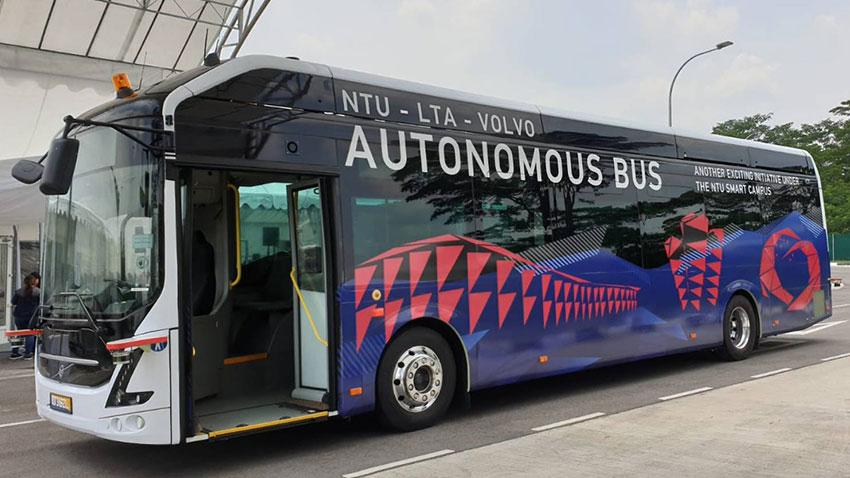 Volvo Otonom Otobüs Testi 1