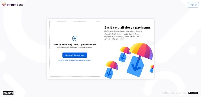 Firefox Send 1