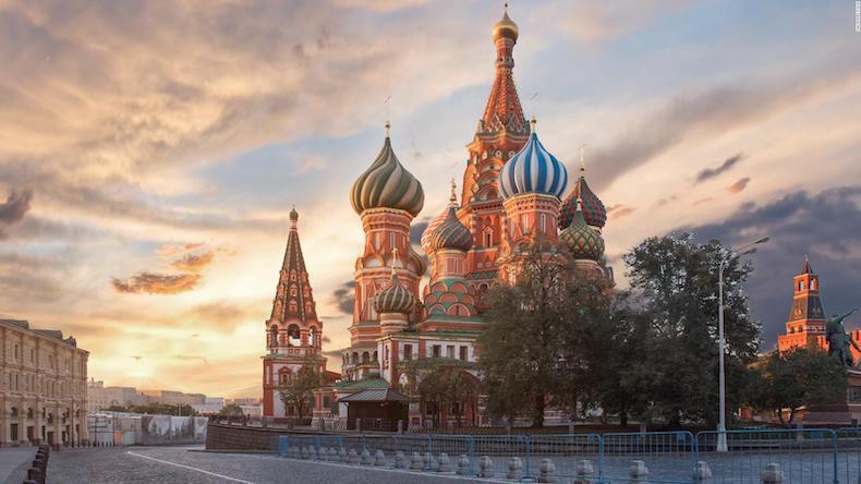 9. Moskova - RUSYA