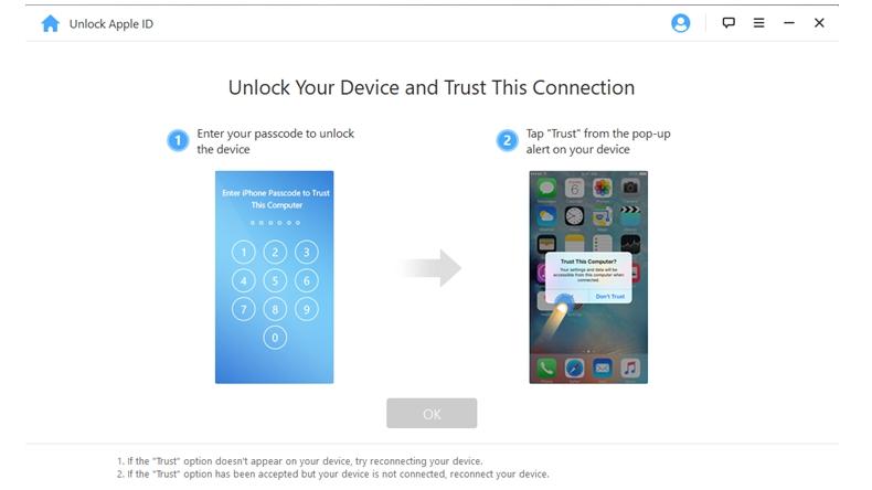iMyfone Unlock Apple ID 2