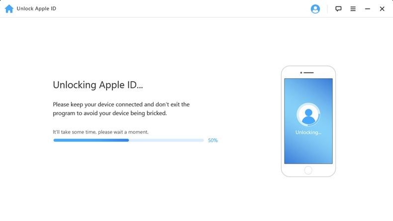 iMyfone Unlock Apple ID 4
