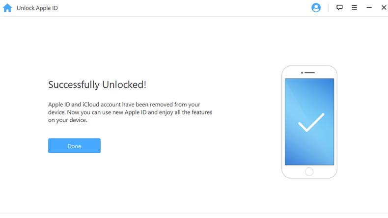 iMyfone Unlock Apple ID 5