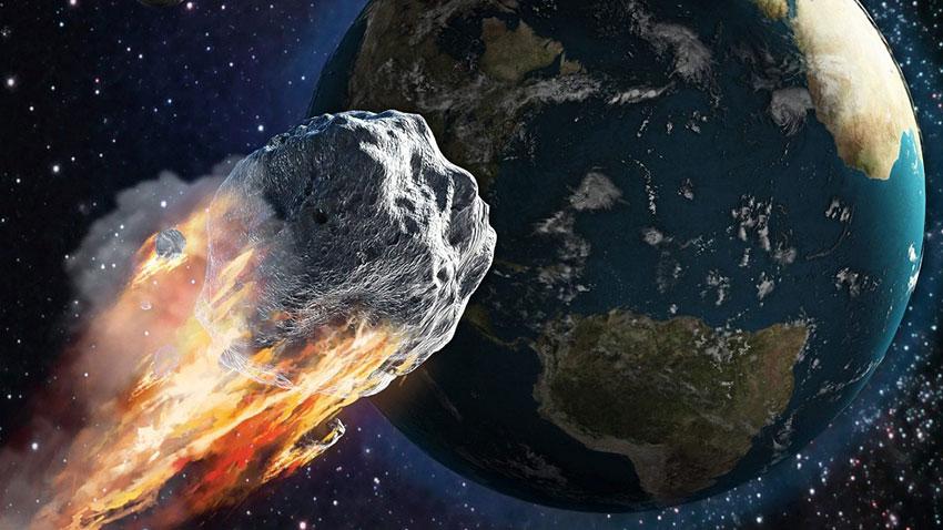 Dünyaya Çarpma İhtimali Bulunan Meteor 1