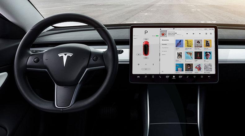 Tesla Araç İçi YouTube 2