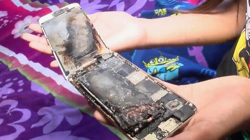 Apple iPhone 6 Yangın