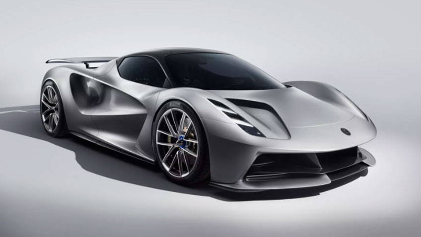 Elektrikli Hiper Otomobil Lotus Evija 1