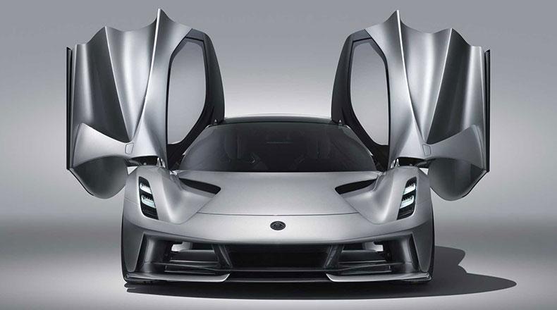 Elektrikli Hiper Otomobil Lotus Evija 2