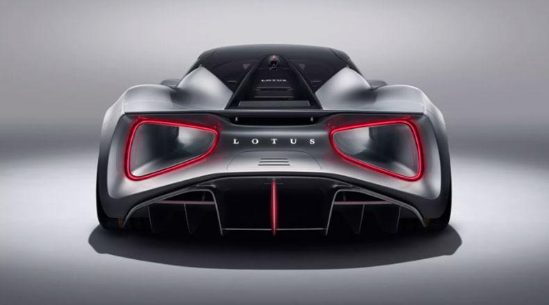 Elektrikli Hiper Otomobil Lotus Evija 3